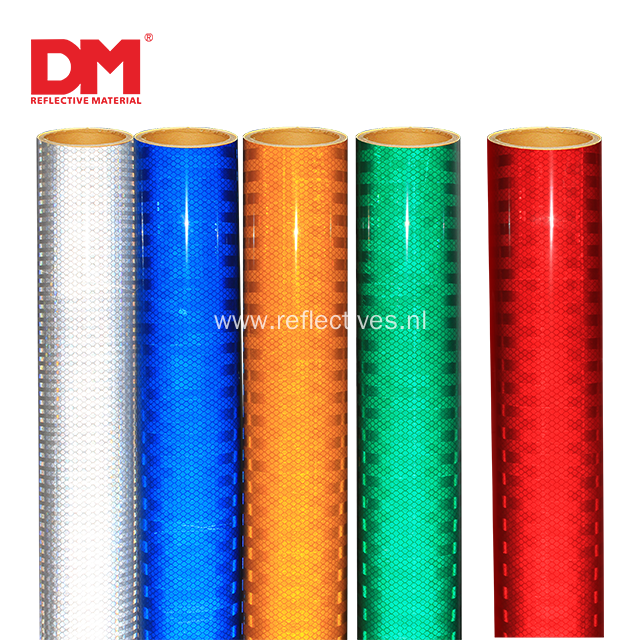 ASTM D4956 Type XI Platinum Grade Prismatic Reflective Sheeting DM 7900
