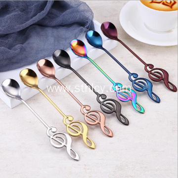 304 Stainless Steel Coffee Ice Spoon