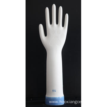 Fish Scale Nitrile Glove Exam Former with Coating