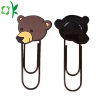 New Design Cute Silicone Bookmark for Gift