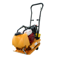 Manual starting mode gasoline plate compactor