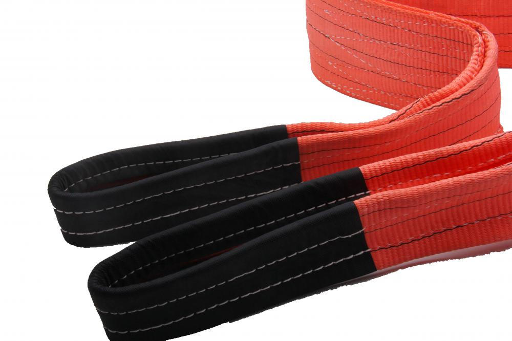 Red Color 5Ton BS Polyester Lifting Sling Belt