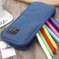 Simple and simple canvas color pen bag