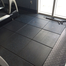 Non-slip cheap gym rubber floor tiles