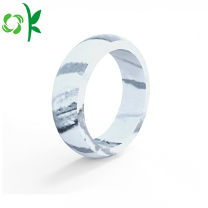 Beautiful Silicone Mixing Color Ring Hot-sales Wedding Rings