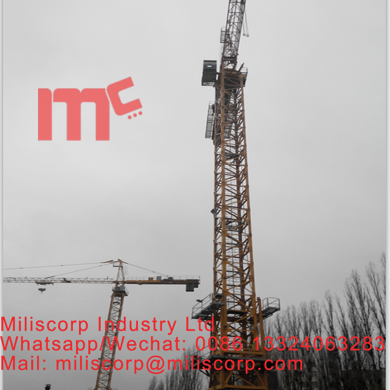 CU certificate tower head tower crane 10ton