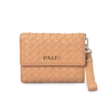 Fashion Top Layer Sheep Leather Money Purse Wallets