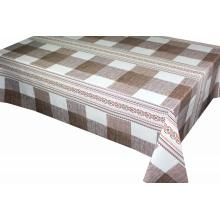 Big discounting for Printed Non Woven Backing Tablecloth Check style Printed Tablecloth export to France Supplier