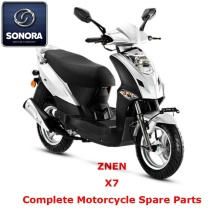 Free sample for Supply Znen Scooter Starter Motor, Znen Scooter Carburetor, Znen Scooter CDI to Your Requirements ZNEN X7 Complete Scooter Spare Part export to India Supplier