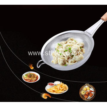Stainless Steel Filter Spoon For Kitchen Utensils