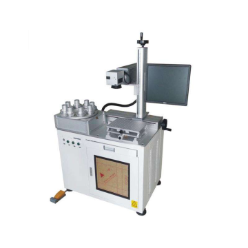 Cylinder Rotating Fiber Laser Marking Machine
