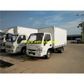Yuejin Gasoline Refrigerated Van Vehicles