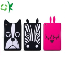 Custom Cartoon Dog Silicone Tablet Case Cute Cover