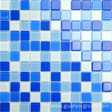 promotional crystal swimming pool mosaic