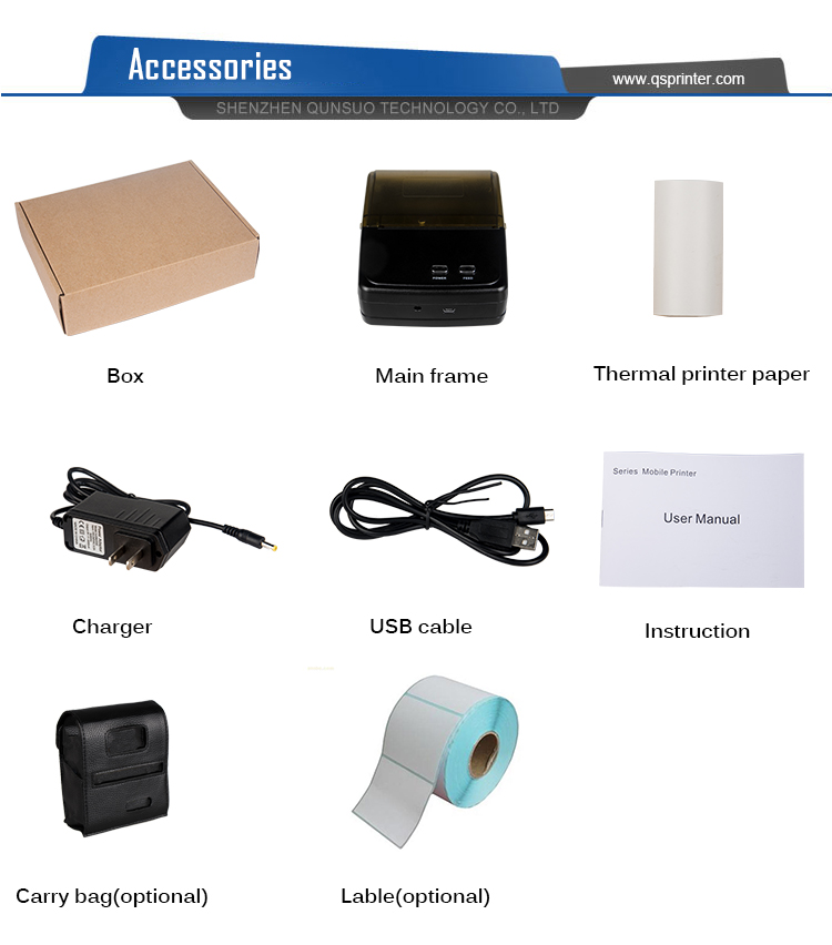 Thermal Printer Bluetooth 5801 4
