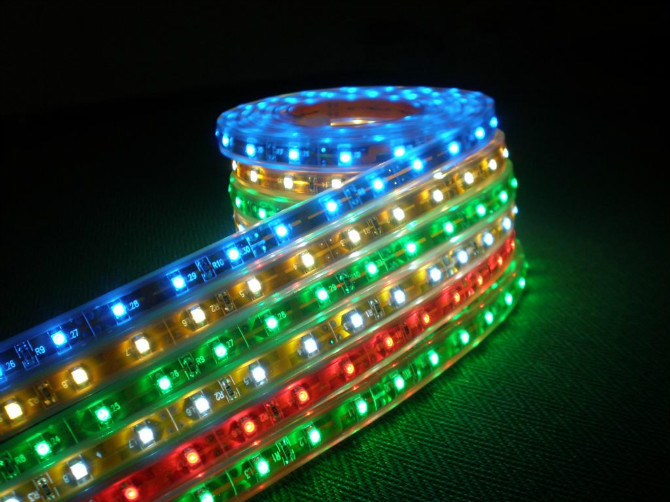 Automatic control led strip