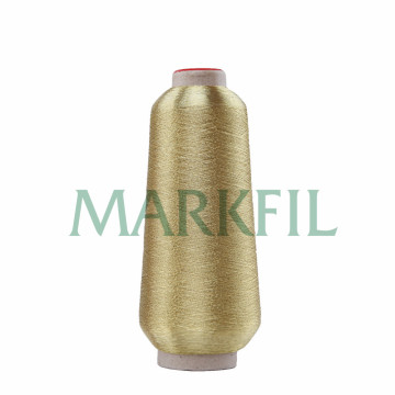 150D Viscose Yarn with Metallic Thread for Embroidery