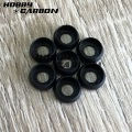 Custom-made Clear White Black Plastic Flat Nylon Washer