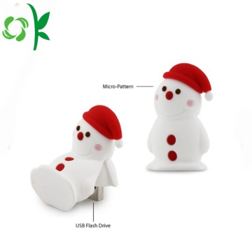 Silicone USB Cover Snow-man USB Waterproof Cover