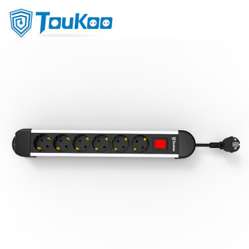 6 outlet German power strip