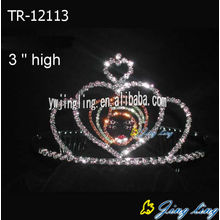 Heart Holiday Crowns Tiaras Hairabnd For Girl