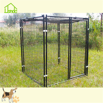 Outdoor extra large welded dog kennel