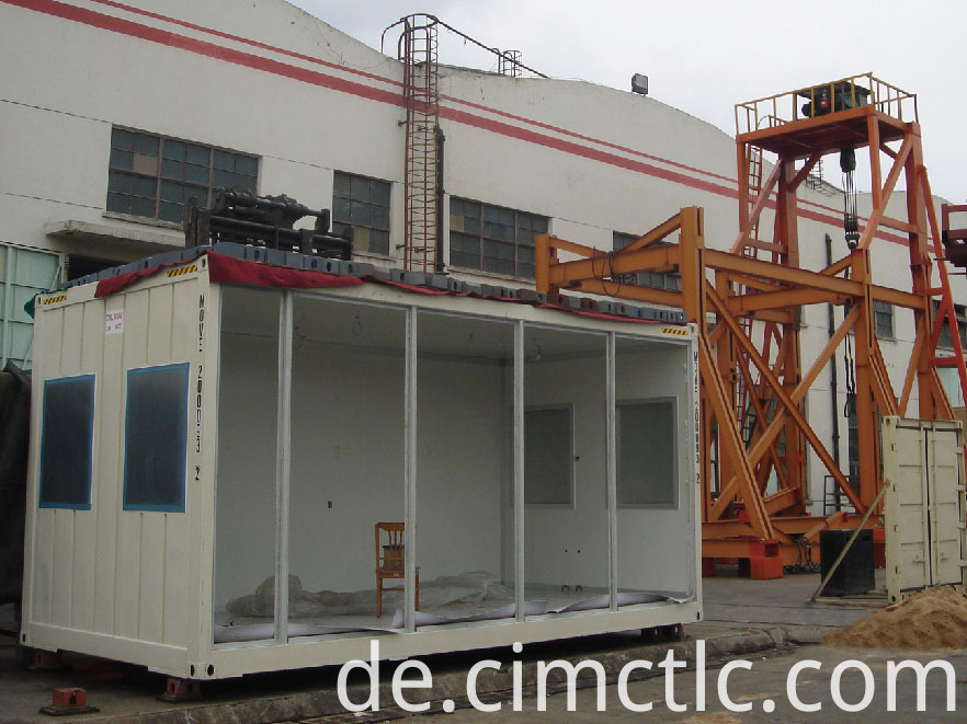 roof loading test for Modular Office Building Container Type