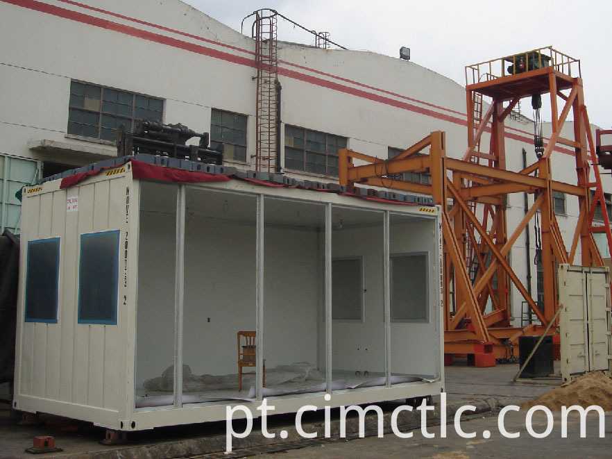 roof loading test for Modular Gym Room Container Type