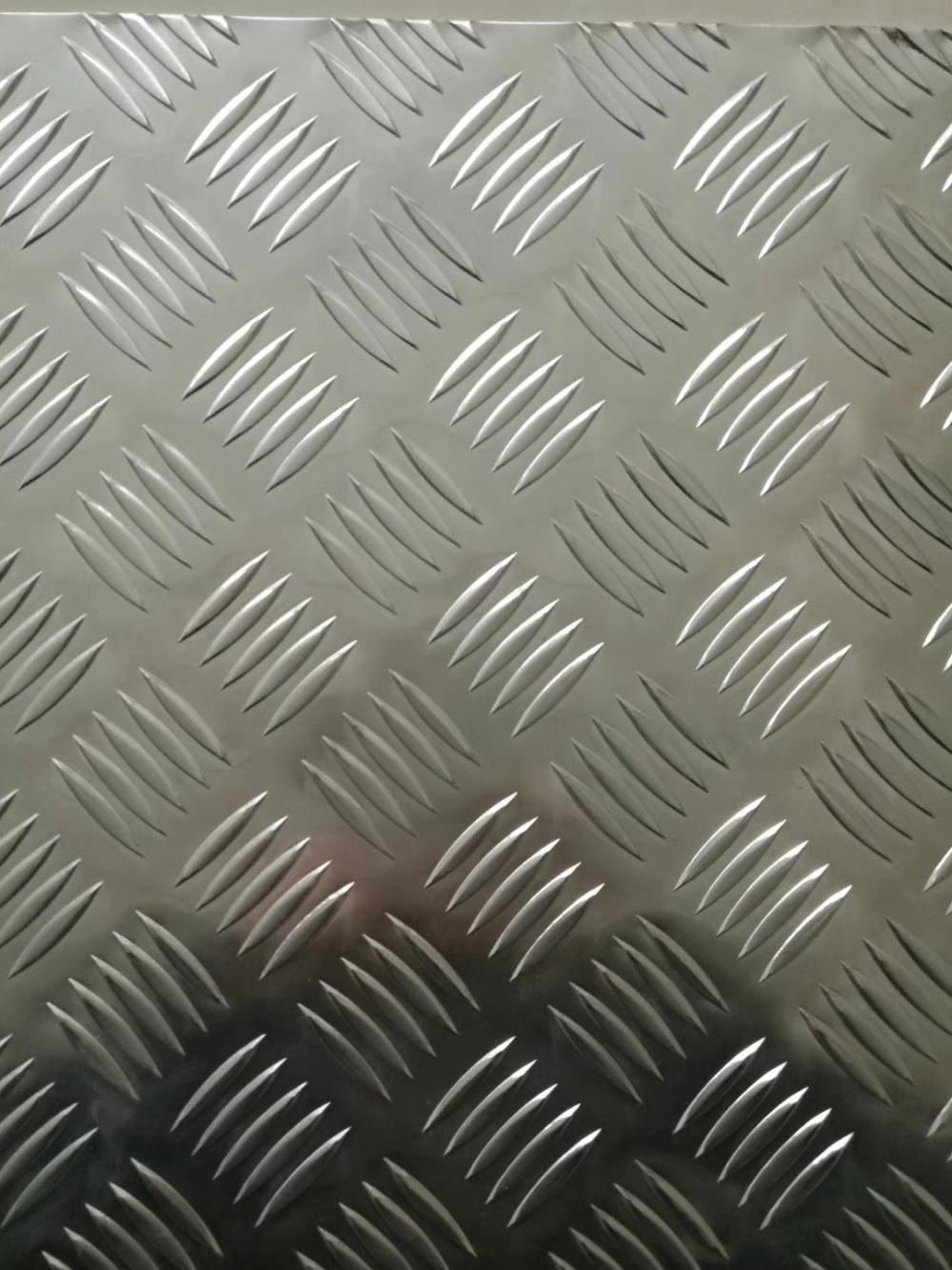 Five Bar Aluminum Chequered Plate