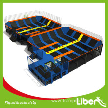 Factory price indoor trampoline park price