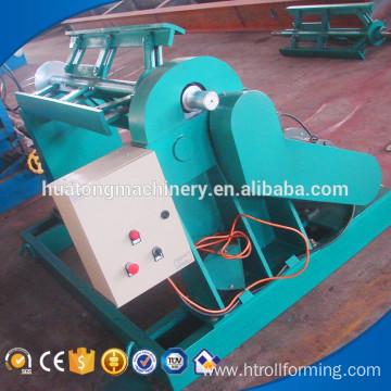 Factory selling metal sheet electric used decoiler