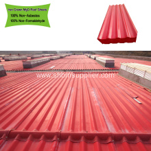 UV Blocking Heat Resistant Mgo Roofing Tile