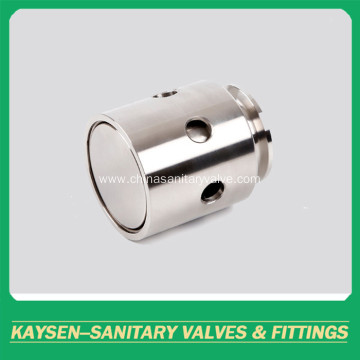 Sanitary negative pressure relief safety valve