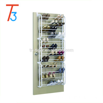 36 Pairs DIY over the door shoe rack hanging plastic shoe rack