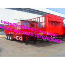 13T Axles 60 Ton Fruits Transport Semi Trailer