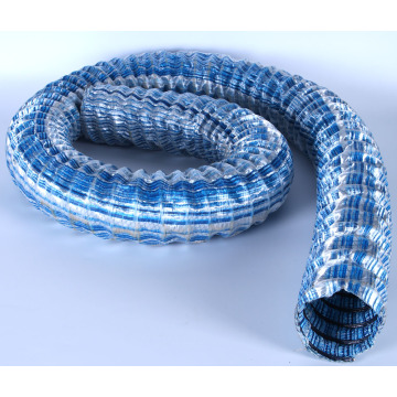 Iron Wire Corrugation Hose Pipe Used In Lawn