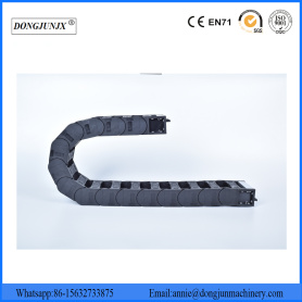 Plastic Flexible CNC Cable Track Chain