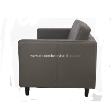 American Style Leather 3 Seater Sofa