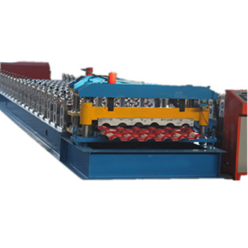 Metal IBR and Glazed tile making machine