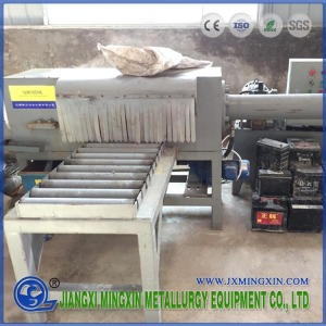 Waste Car Acid Household Battery Recycling Line