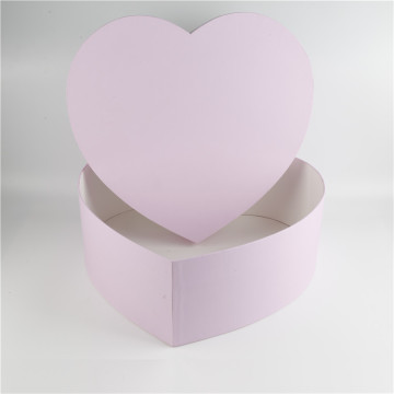 Custom Made Luxury Packaging Heart Shape Flower Box