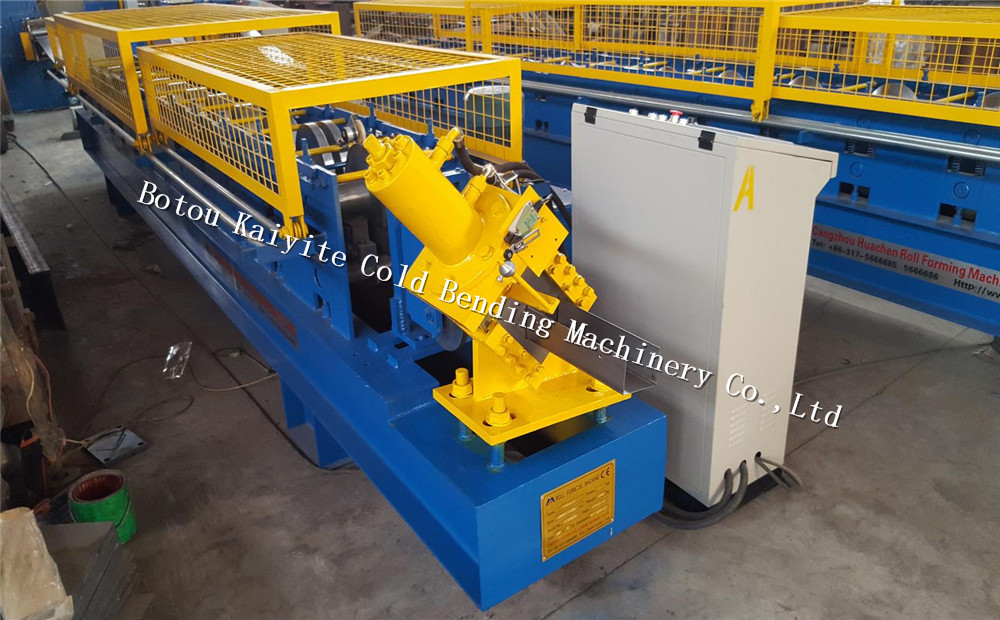 Stainless Steel U Channel Sheet Roll Forming Machine