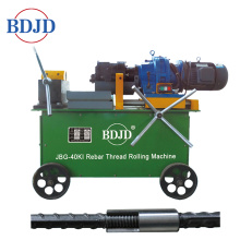 Rebar Thread Rolling Machine in Construction