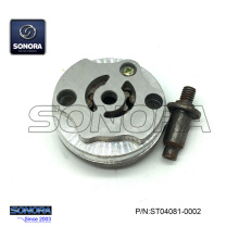 Reliable for Qingqi Scooter Oil Pump GY6 125CC 152QMI BAOTIAN BT125T-21A3 3C Oil Pump Assy (P/N:ST04081-0002) Complete Spare Parts High Quality export to Portugal Supplier
