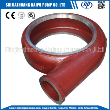 Wear resistant slurry pump volute F6110