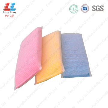 Long style silver cleaning sponge