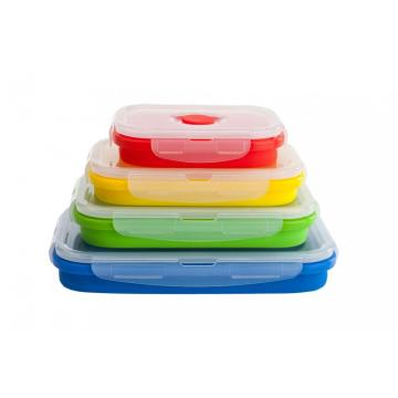 Wholesale Collapsible Silicone bento boxes