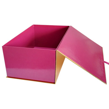 Ribbo decoration gift box for shoes packaging