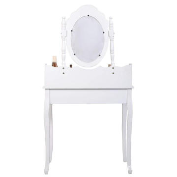 High Quality Vanity Jewelry Makeup Dressing Table, White