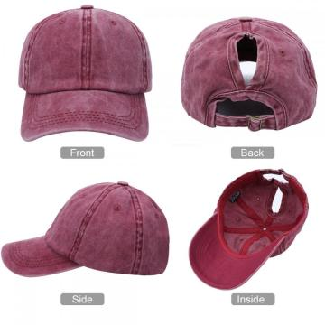 Kodior ponytail baseball hats cap